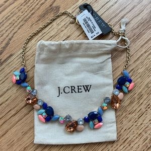 J. Crew   Colorful Party Statement Necklace NWT